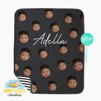 BABY BLANKET baby's face series | Selimut Custom Nama dan Wajah Bayi