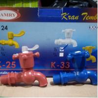kran air plastik 1/2 inch/keran plastik