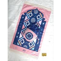 Mukena Traveling + Sajadah Seri 4 [Pilihan motif: Geser]
