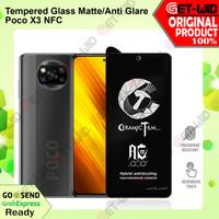 Tempered Glass Matte Xiaomi Poco X3 NFC Anti Glare Screen Protector