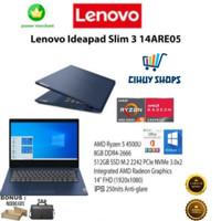 Laptop Lenovo Ideapad Slim 3 Ryzen 5 4500U 8GB 512 SSD FHD W10 OHS