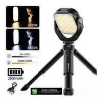 Paket Combo Ulanzi Vijim 66 LED Video Light + MT14 Mini Tripod Lampu