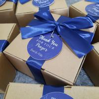 Wedding birthday hamper souvenir isi peach gum dessert 5-6porsi