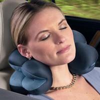 Bantal Leher Mobil | Total Pillow | Bantal Traveling|Bantal Kesehata