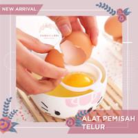 Alat Pemisah Putih Dan Kuning Telur Bahan Food Grade Saringan Masak
