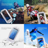 Universal 45m Diving Waterproof Case Mobile Phone Shell Smartphone