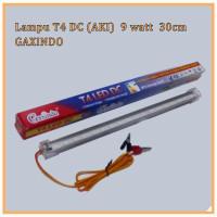 Lampu LED T4 DC / Lampu TL Aki 12V 9watt Panjang 30cm Putih GAXINDO