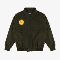 Geoff Max Official - Extase Green Army   Bomber Jacket   Jacket Pria
