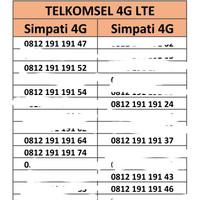 Nomor Cantik Simpati Telkomsel 4G Lte Murah