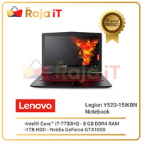 LENOVO Notebook Legion Y520 15IKBN 66ID Intel Core I5 NB Laptop Gaming