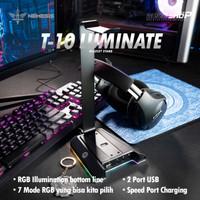 NYK Nemesis T10 LUMINATE - Headset Stand RGB