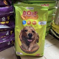 BOLT DOG FOOD 20KG LAMB GOJEK GRAB ONLY