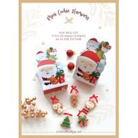 Mini Cookie Hampers Christmas