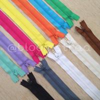 1Lusin Zipper YKK resleting YKK seleting YKK 03 ( 8 in / 20 cm) 12 pcs