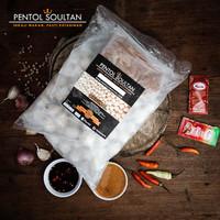 Pentol Soultan Frozen Food Original,Keju,Urat,Telor/ Saos Kacang 650gr - Original