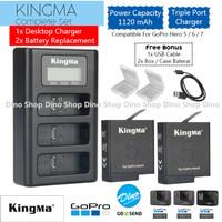 Kingma Paket Baterai & Charger Set GoPro HERO 5 / 6 / 7 Battery Camera