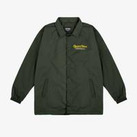 Geoff Max Official - Carreiras Green Army   Coach Jacket   Jacket Pria