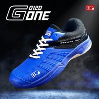 Hi-Qua G-One Generation One Sepatu Bulutangkis Badminton Olahraga - Biru, 38