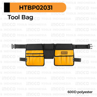 Tool Belt 2-Side INGCO HTBP02031 Sabuk Bag Tas Pinggang Perkakas Alat