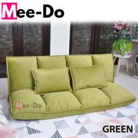 Mee-Do Sofa Bed / Lipat / Kursi / Lesehan / Santai / Portable / Malas - Hijau