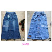Rok Jeans Anak cewek / Rok Anak cewek / Rok panjang anak cewek