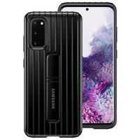Samsung Galaxy S20+ Protective Standing Cover Hitam Original