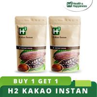 BUY 1 GET 1 H2 Kakao Instan - Healthy Chocolate