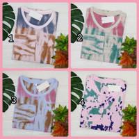kaos printed - atasan wanita - 100rb 3 kaos - baju