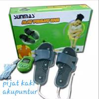 Alat Pijat Kaki Badan Sunmas/foot Massager/ Sandal Kesehatan Elektrik