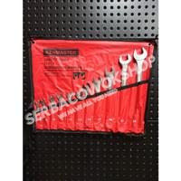 Kenmaster Promo Kunci Ring Pas Set 11 Pcs 8 - 24 mm Chrome Termurah