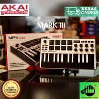 MIDI KEYBOARD CONTROLLER AKAI MPK MINI MKIII/MK3 Special Edition White