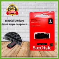 SANDISK USB FLASHDISK 8GB /FLASDISK 8GB USB2.0 ORIGINAL
