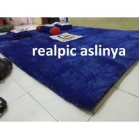 Surpet Kasur Karpet / Kasur Empuk Karakter / Karpet Karakter 180x140 - Biru