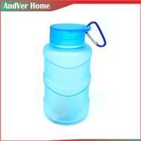 Botol Minum Bentuk Mini Galon Kecil 450ML - Biru Muda
