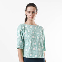 Blanik Blouse Nita Prints 3/4 Sleeve