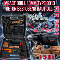 promo mesin bor drill 13mm impek drill beton uciha fullset tang 8013