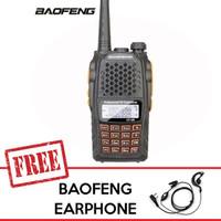 Baofeng UV-6R HT Dualband 7W Ori Baru Garansi Dua Band UV6 UV6R UV-6