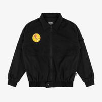 Geoff Max Official - Extase Black   Bomber Jacket   Jacket Pria
