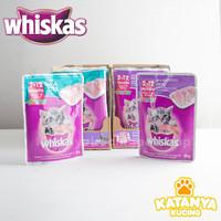 Whiskas Junior Mackerel Tuna Pouch 85gr - Mackerel