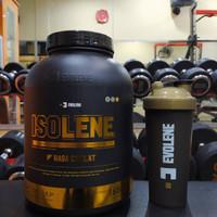 Evolene Isolene 1650 gram gr whey isolate protein powder bulk bulking