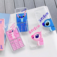Huawei P7 P8 P9 P10 P20 P30 Lite Pro Plus Stitch Couple Case