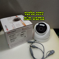 Kamera CCTV HIKVISION 5MP ColorVu DS-2CE72HFT-F / Full Time Colour