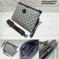 clucth gucci premium/hand bag gucci/slempang gucci