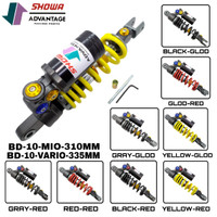 shockbreaker tabung showa new cnc mio beat vario 150