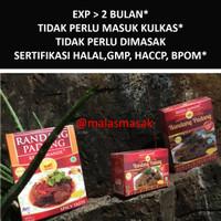Rendang Padang Asli Daging Sapi Restu Mande. Bukan Frozen Food