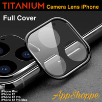 Camera Lens Full Cover Protection Protector TITANIUM iPhone 12 Series