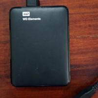 WD Elements 500GB USB 3.0 Harddisk External Hardisk Eksternal 500 GB