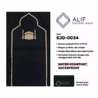 Sajadah Saku Anti Air | Sajadah Travel Lipat Alif Modern Wear SJD-0034