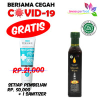 MINYAK WIJEN 100% 250 ML / SESAME OIL KOREA