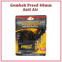 Gembok Pendek 40/50/60mm Anti Air / Hujan ( Ada Cover) FREED